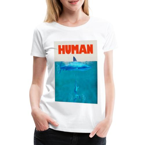 Endangered shark - Camiseta premium mujer