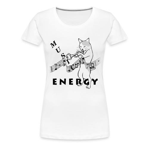 Music-Is-Energy - Women's Premium T-Shirt