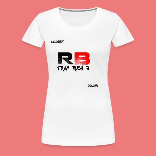 trb logo wildshot - Women's Premium T-Shirt