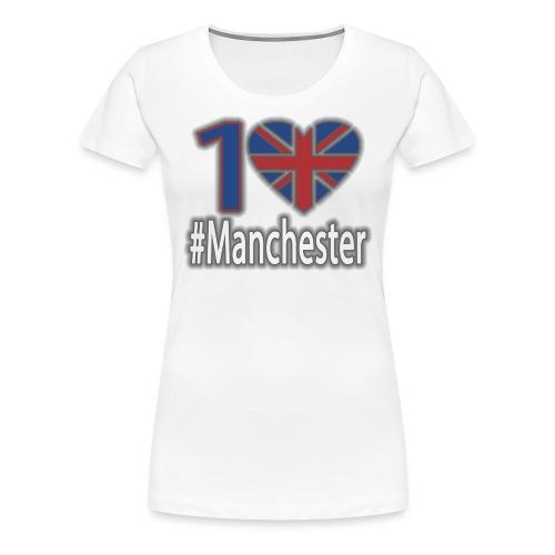 One Love Manchester - Women's Premium T-Shirt