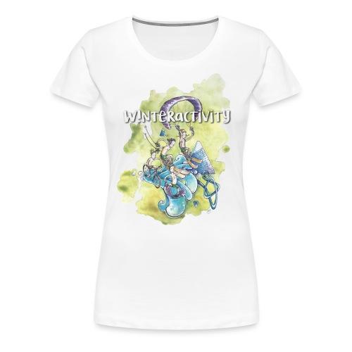 WINTERACTIVITY - T-shirt Premium Femme