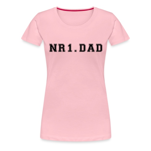 NR1. DAD - Dame premium T-shirt