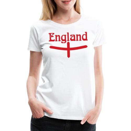 England motif - Women's Premium T-Shirt