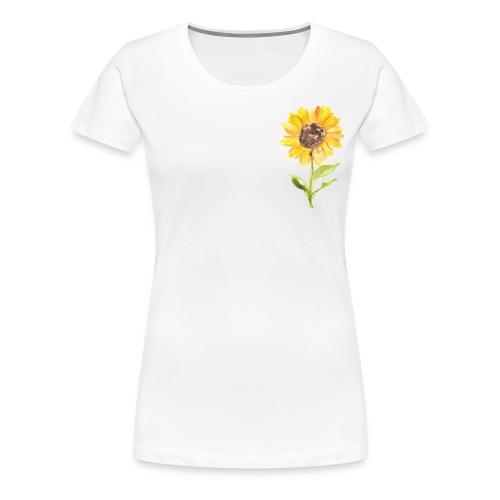 Sonnenblume Sunflower - Frauen Premium T-Shirt