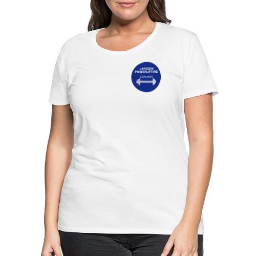LarssonPowerliftingLogo - Premium-T-shirt dam