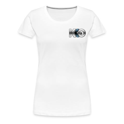 Team Kryptk Late 2014 Relaunch Logo - Blue - Women's Premium T-Shirt