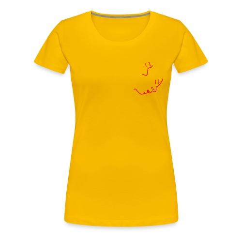 'Stay a little longer' (pocket) - Women's Premium T-Shirt