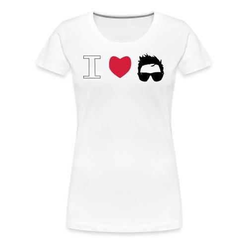 Dani in Black - Camiseta premium mujer