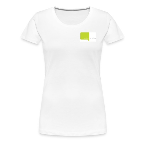 english rgb logo m jpg - Women's Premium T-Shirt