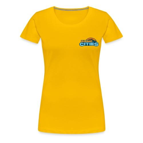 Rising Cities Logo - Frauen Premium T-Shirt