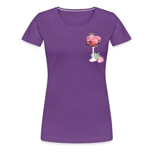 Cheers Cocktail Strawberry Daiquiri - Frauen Premium T-Shirt