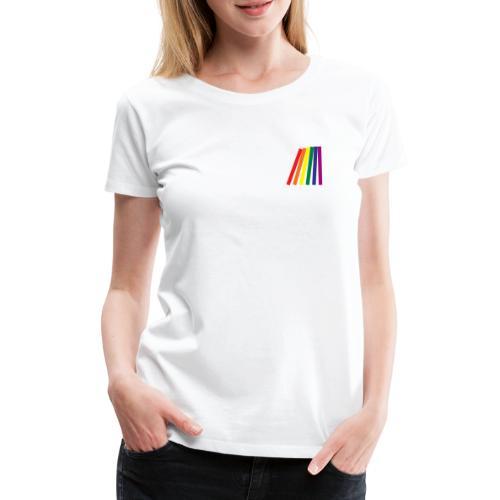 Pride domino - Vrouwen Premium T-shirt