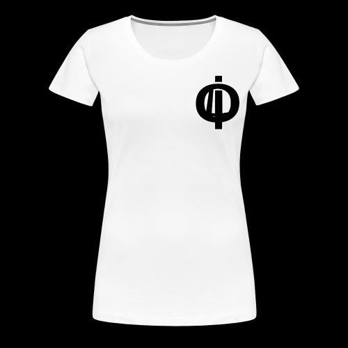 OLi Branded// Black and White - Women's Premium T-Shirt