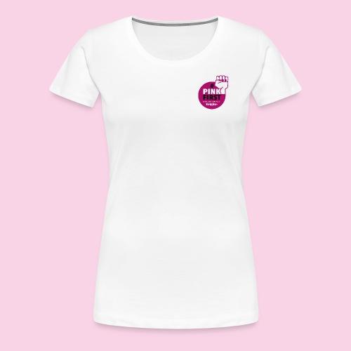 PinkFirst - Frauen Premium T-Shirt