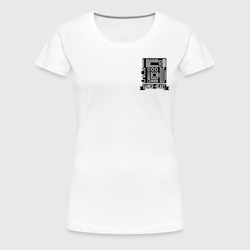 Gamer-Heart - T-shirt Premium Femme