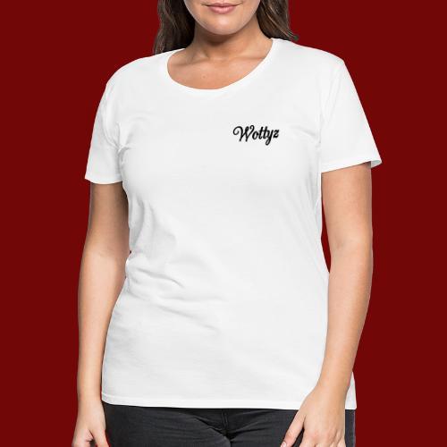 Wottyz Black Edition - Women's Premium T-Shirt
