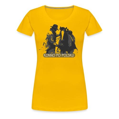 horse2 - Koszulka damska Premium