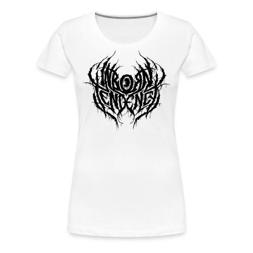 Logo, rässi - Naisten premium t-paita