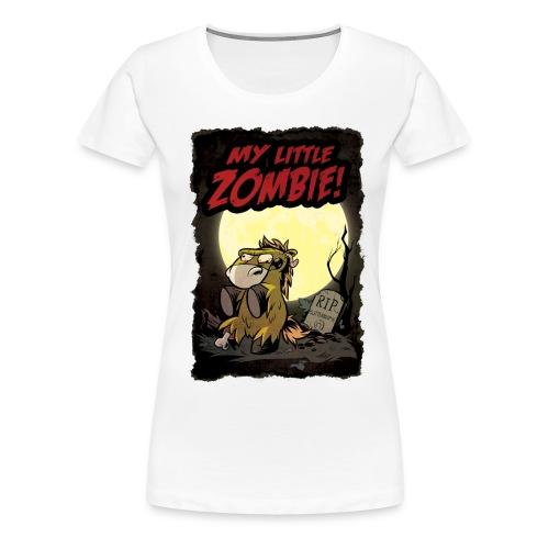 Zombie-Butterblume - Frauen Premium T-Shirt