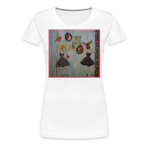 BICHE ET RENARD FINAL4 jpg - T-shirt Premium Femme