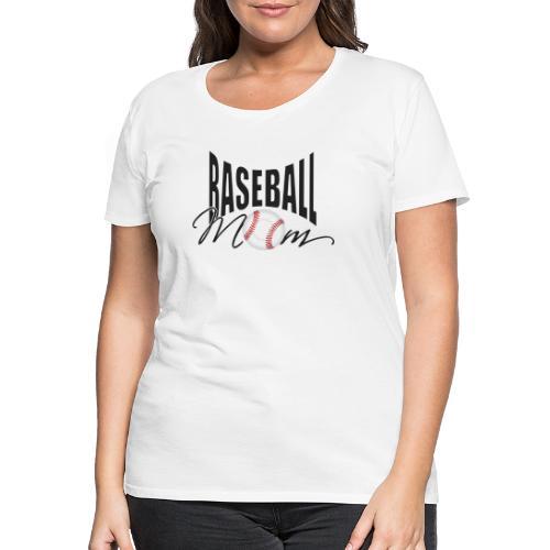 Baseball Mom - Frauen Premium T-Shirt
