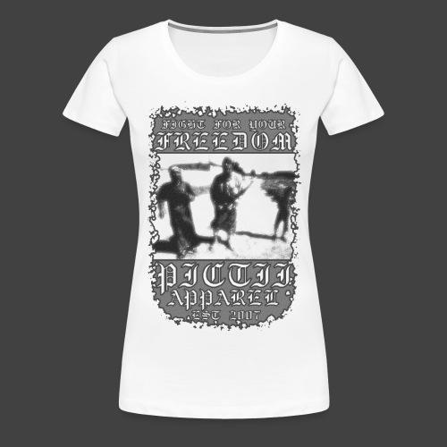 PICTFREE1 - BW - Women's Premium T-Shirt