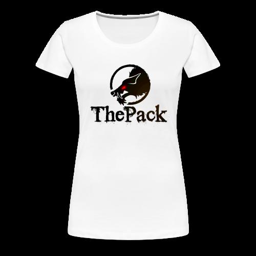 ThePack Logo klassisch - Frauen Premium T-Shirt