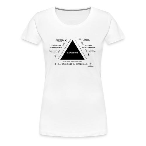 TRIANGLE D'EXPOSITION - T-shirt Premium Femme