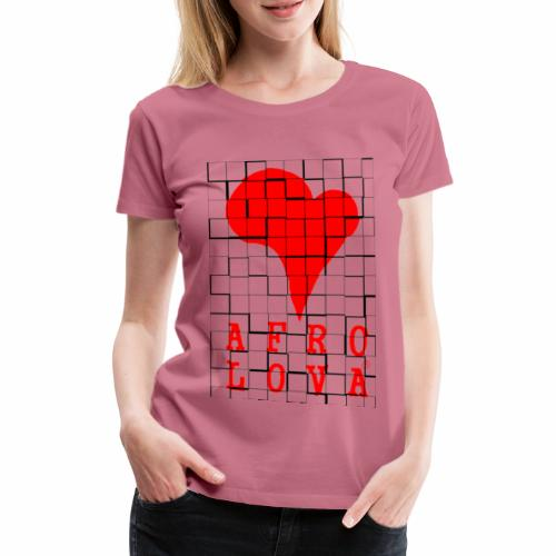 carreauxlova2 - T-shirt Premium Femme