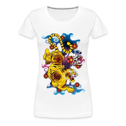 Japanese Tiger - Tattoo design - T-shirt Premium Femme
