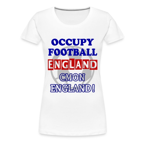 occupy football england - Women's Premium T-Shirt