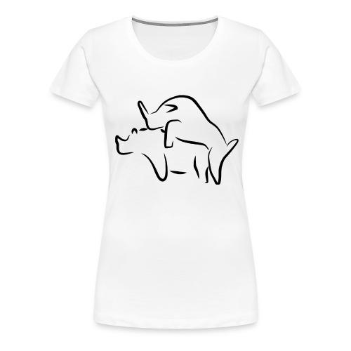 Tiere - Frauen Premium T-Shirt