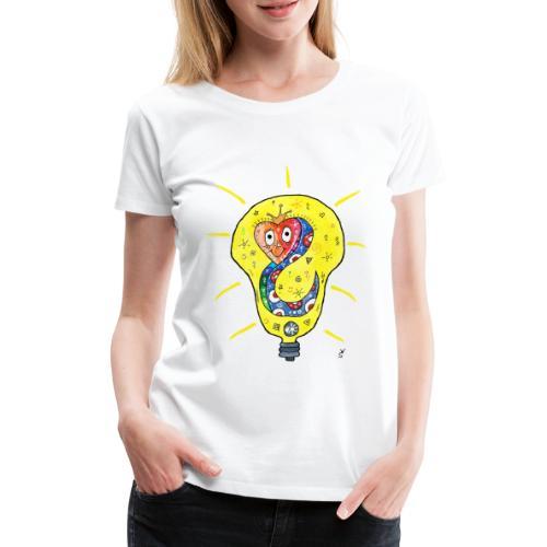 Happy Questionsnake - Frauen Premium T-Shirt