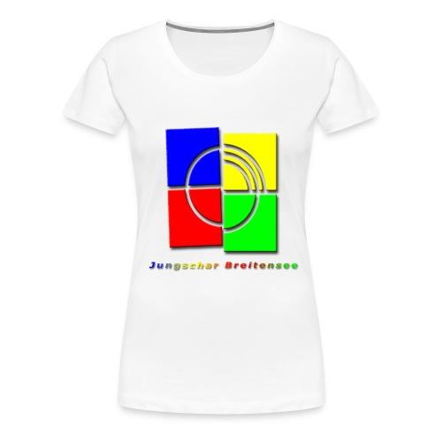 junschar logo bunt t - Frauen Premium T-Shirt