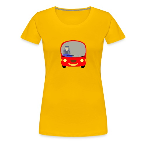bus front - Women's Premium T-Shirt