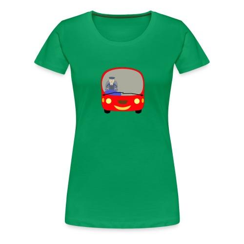 bus front - Women's Premium T-Shirt