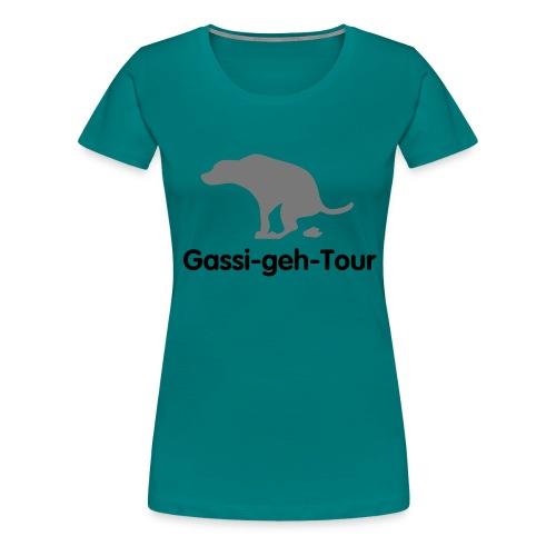 gassigehen - Frauen Premium T-Shirt