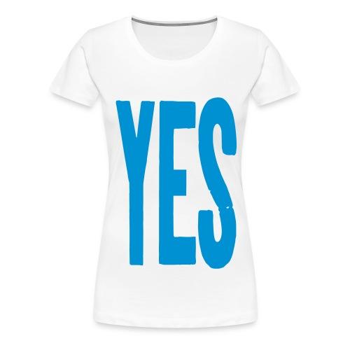 yes2 - Women's Premium T-Shirt