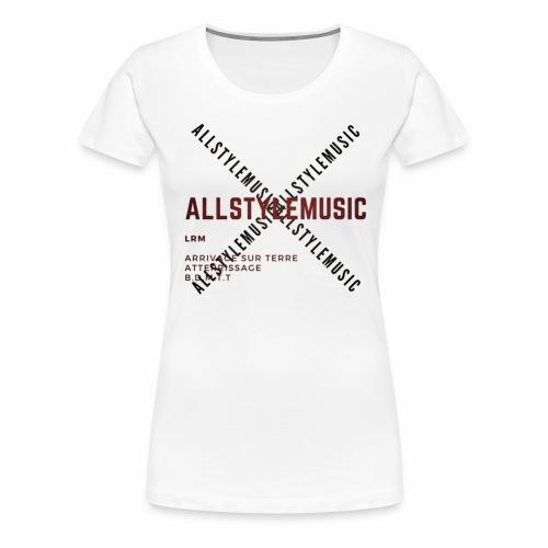 ALLSTYLEDESIGN - T-shirt Premium Femme