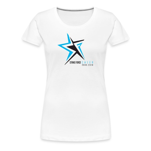 Strike Force 10 YR Logo 02 - Women's Premium T-Shirt