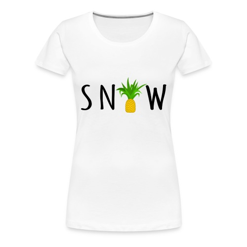 PineappleSnow - Premium-T-shirt dam