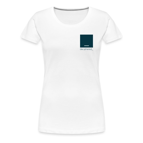 Deciphered Swag - Women's Premium T-Shirt