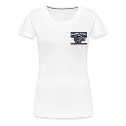 Beale's Plaice logo - Women's Premium T-Shirt