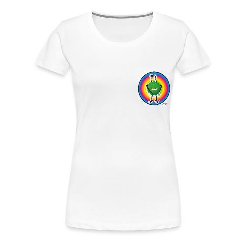 monstruo - Camiseta premium mujer