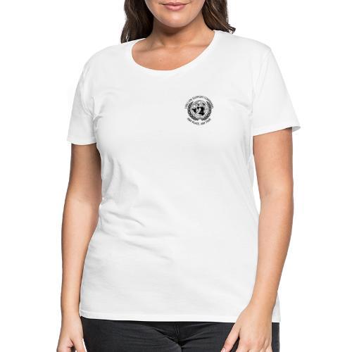 zwart borst - Vrouwen Premium T-shirt