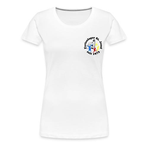Logo Gif schwarz farbig 120dpi 2000px - Frauen Premium T-Shirt