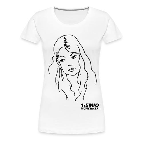 1,5Mio - Frauen Premium T-Shirt