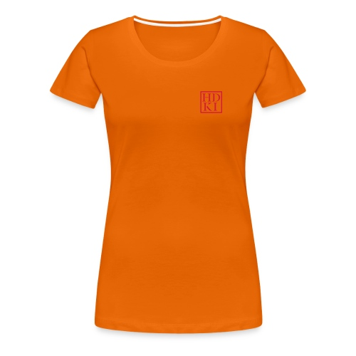 HDKI logo - Women's Premium T-Shirt