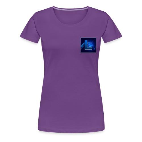 Logo GamenMetLucas - Vrouwen Premium T-shirt