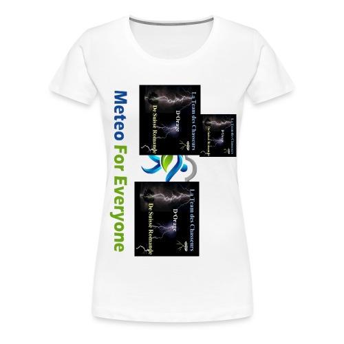 Logo de la team orage - T-shirt Premium Femme